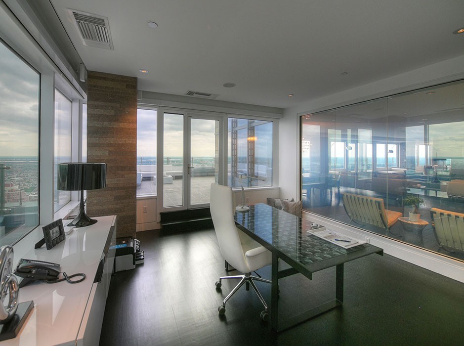 Luxury Penthouse at the Residences at Two Liberty Place  Studio Agoos Lovera