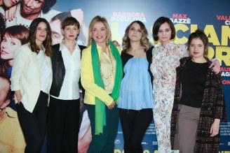 Le attrici del film. Foto Alfonso Romano / Ago Press
