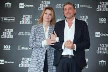 Marghertia Buy e Sergio Castellitto. Foto Alfonso Romano / Ago Press