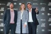 Alex Infascelli, Margherita Buy e Sergio Castellitto. Foto Alfonso Romano / Ago Press