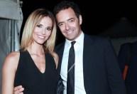 Alberto Matano e Francesca Fialdini. Foto Alfonso Romano / Ago Press