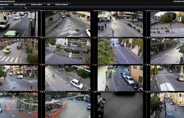 """Sicurezza. """"Sorvegliare Sorrentum"""", presentazione del nuovo sistema di videosorveglianza urbana"""