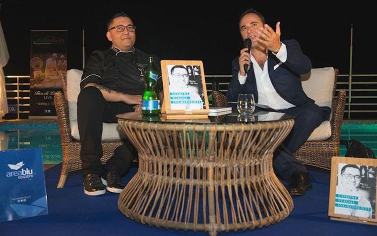 """Libri. """"Uomini. Viaggi. Ingredienti"""", lo chef Rino de Feo si racconta a Luigi D'Alise"""