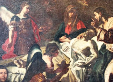 """Arte e crowdfunding, restaurato il quadro """"La morte di San Giuseppe"""""""