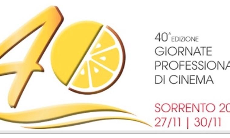 Sette giorni di grande cinema con la 40ma edizione delle Giornate Professionali di Sorrento