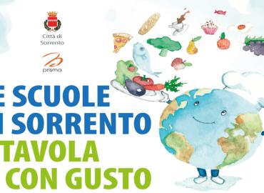"""""""Le scuole di Sorrento. A Tavola con gusto"""", incontro pubblico sull'educazione alimentare"""