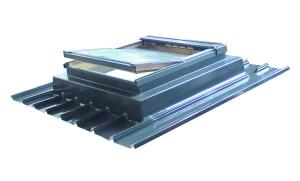 embase d'adaptation fenêtre de toit sur bac acier bac isolé