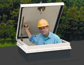 Accès toiture vérins à compression trappe d'accès en toiture renforcée facile d'utilisation