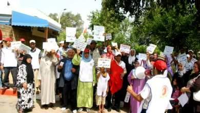 Photo of القنيطرة: مرضى القصور الكلوي يحتجون ويطلبون يتسلم المنحة الموهوبة من طرف الولاية