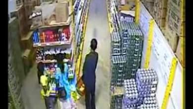 Photo of شاهد بالفيديو: هندية تسرق صندوق بيرة وتخفيه بين رجليها