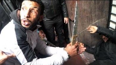 "Photo of بالفيديو: هكذا تم قتل وحرق ""متشرد "" من طرف خمسة متشردين بسبب ""الدوليو"""