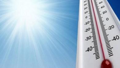 Photo of درجات الحرارة المرتقبة يوم غد الأحد