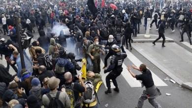 Photo of أعمال عنف خلال احتجاجات على قانون العمل الجديد بفرنسا