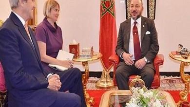 "Photo of جون كيري يصف مباحثاته على انفراد مع جلالة الملك ب""الشاملة"" و"" الإيجابية جدا"""