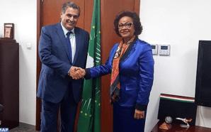 أخنوش يتباحث بأديس أبابا مع مفوضة الاتحاد الإفريقي للاقتصاد القروي…