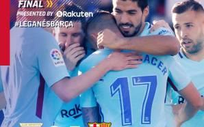 بالفيديو: ملخص وأهداف برشلونة وليغانيس