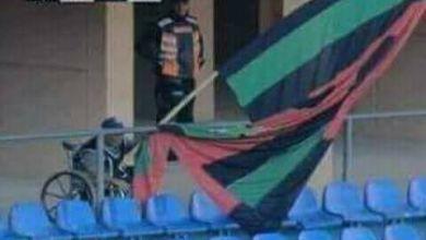 """Photo of جمهور الزعيم يرفع شعار """"إرحل"""" في وجه العامري"""