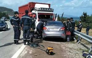 مصرع أربعة أشخاص في حادثة سير ضواحي تطوان