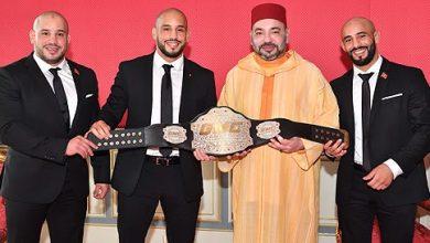 Photo of استقبال ملكي للبطلين العالميين الأخوين زعيتر