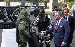 الملك محمد السادس يزور المديرية العامة لمراقبة التراب الوطني ويدشن…