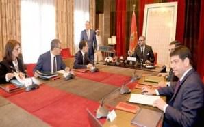 الملك محمد السادس يترأس جلسة عمل لدراسة مستوى تقدم مشاريع…