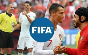 """بلاغ رسمي لـ """"الفيفا"""" بعد تصريحات أمرابط حول رونالدو والحكم"""