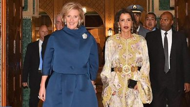Photo of الأميرة للا مريم تترأس مأدبة عشاء أقامها جلالة الملك على شرف الأميرة أستريد لبلجيكا