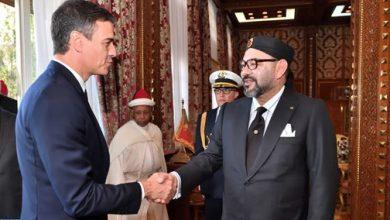 Photo of الرباط: الملك محمد السادس يستقبل رئيس الحكومة الإسبانية