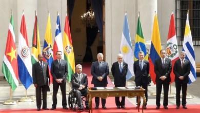 Photo of البرازيل والشيلي البرازيل توقعان بسانتياغو سلسلة من اتفاقيات التعاون
