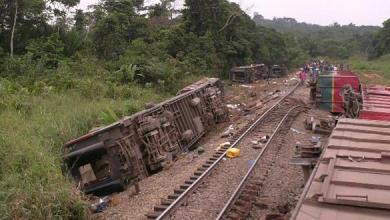 Photo of مقتل 24 شخصا في الكونغو إثر خروج قطار عن سكته