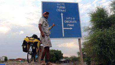 Photo of الرحالة المغربي ياسين غلام يحلم بالوصول إلى آسيا وأمريكا الجنوبية