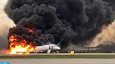 Photo of لجنة التحقيق الروسية: مقتل 41 شخصا في حادث احتراق طائرة الركاب في مطار موسكو