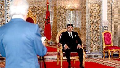 Photo of الملك محمد السادس يستقبل والي بنك المغرب