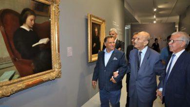 "Photo of اليوسفي بمتحف محمد السادس للفن الحديث والمعاصر، زيارة ""رمزية"" و""مبادرة قوية"" لفائدة الثقافة"