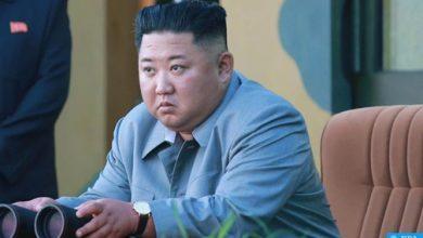 "Photo of بيونغ يانغ: ""كيم جونغ"" أشرف على اختبار ""راجمة صواريخ"" فائقة الحجم"