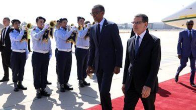 "Photo of الرئيس الرواندي ""بول كاغامي"" يحل بالمغرب"
