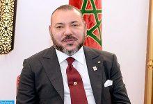 Photo of برقية تعزية ومواساة من جلالة الملك إلى أسرة المرحوم الصحفي مصطفى اليزناسني
