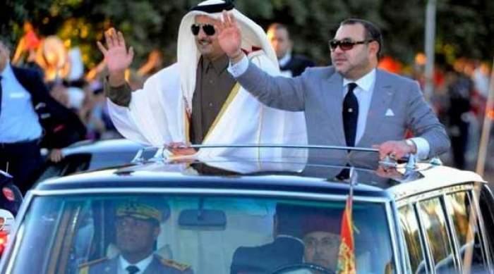 Photo of محمد السادس وأمير قطر يبحثان التطورات على الساحتين الإقليمية والدولية