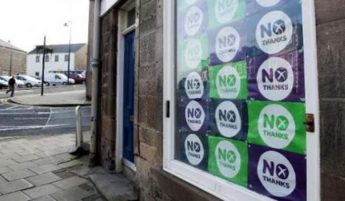 Photo of الوحدة البريطانية تخرج منتصرة بعد تحدي الاستفتاء حول استقلال اسكتلندا