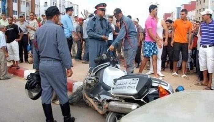 Photo of مصرع دركي ببرشيد بعد دهسه بدراجة نارية