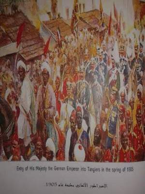 Photo of هذا هو سبب زيارة الامبراطور الألماني غليوم الثاني لمدينة طنجة