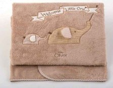 Baby Oliver Κουβέρτα Fleece Κούνιας Welcome Little One Design 302 Baby Oliver