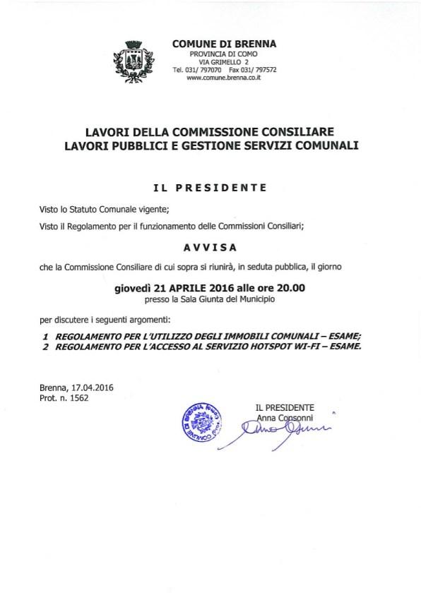 Comm_Lavoripubblici