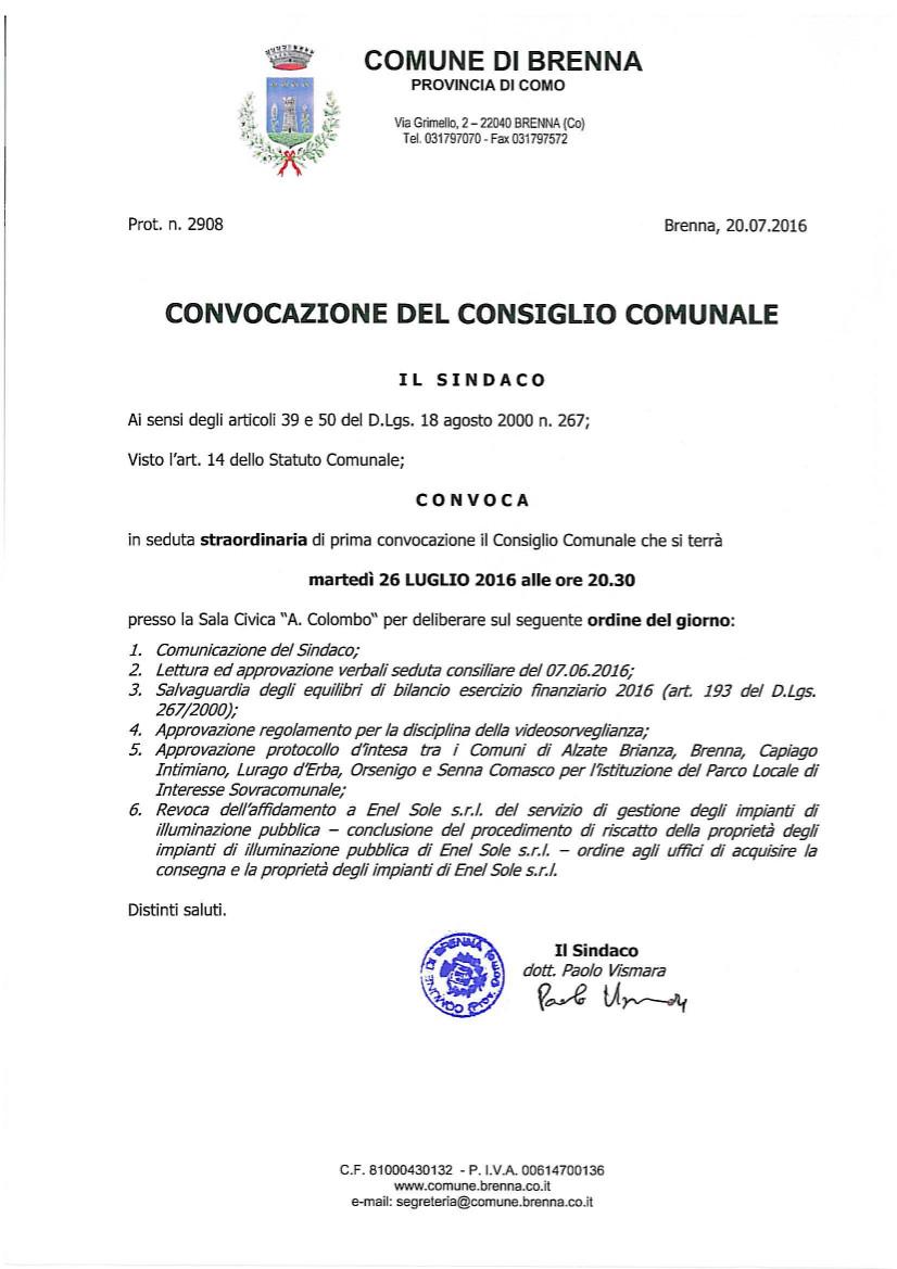 Convoc CC 26-7-16