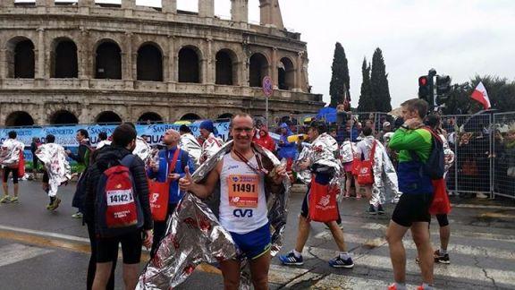 Antonio Orlando Maratona di Roma