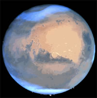 Photo of Mars by Hoagland in association with other independent scientists