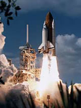 STS-80 Lift off from Pad 39B