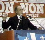Pierre Elliot Tudeau during the No Campaign