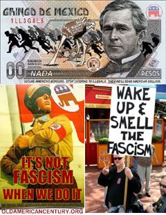 Bush Amero and  Fascism