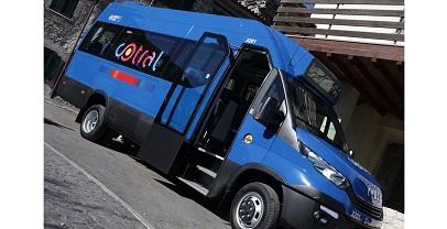 Regione Lazio. Consegnati 20 minibus per le zone impervie